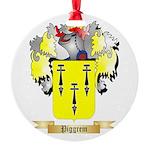 Piggrem Round Ornament