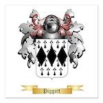 Piggott Square Car Magnet 3
