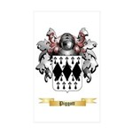 Piggott Sticker (Rectangle 50 pk)