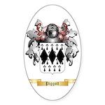 Piggott Sticker (Oval 50 pk)