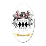 Piggott 35x21 Oval Wall Decal