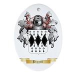 Piggott Oval Ornament
