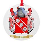 Pigdon (2) Round Ornament
