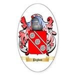 Pigdon (2) Sticker (Oval 10 pk)