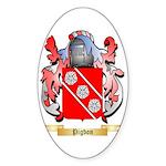 Pigdon (2) Sticker (Oval 50 pk)