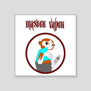 master vaper Sticker