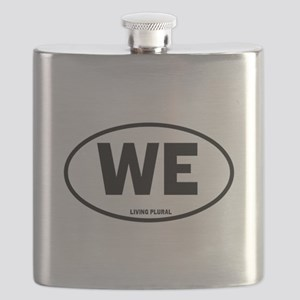 WE - Living Plural_large Flask