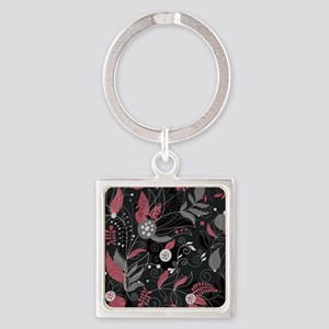 Elegant Leaves Keychains