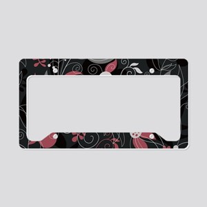 Elegant Leaves License Plate Holder