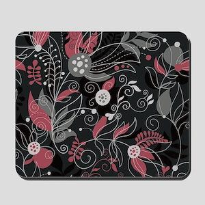 Elegant Leaves Mousepad