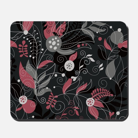 Elegant Leaves Mousepad
