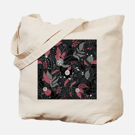 Elegant Leaves Tote Bag