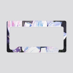 Magnolia Painting License Plate Holder