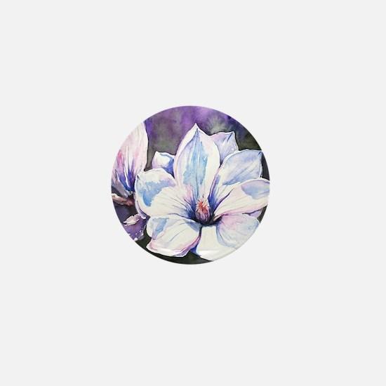Magnolia Painting Mini Button