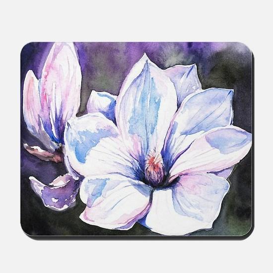 Magnolia Painting Mousepad