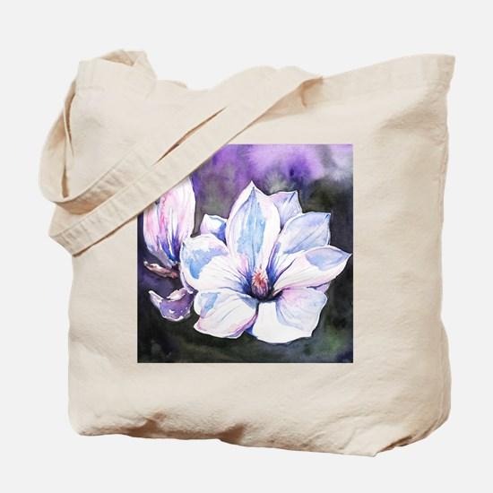Magnolia Painting Tote Bag