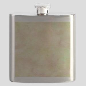Citron Zest Watercolor Flask