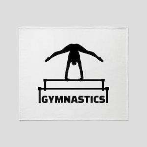 Gymnastics Throw Blanket