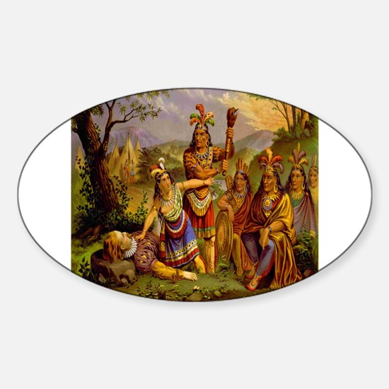 Pocahontas Decal