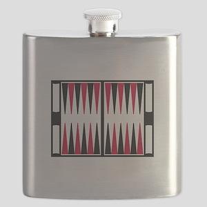 Backgammon board Flask