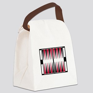 Backgammon board Canvas Lunch Bag