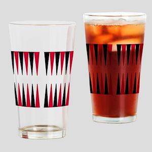 Backgammon Drinking Glass