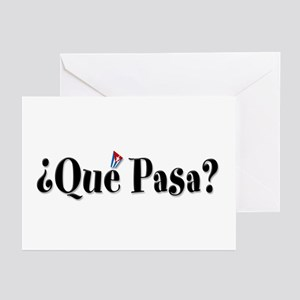 Que Pasa Greeting Cards (Pk of 10)