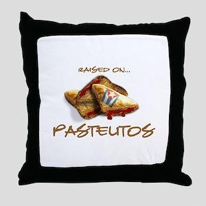 Raised on... Pastelitos Throw Pillow