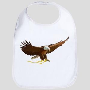 Bald Eagle Art Graphic Bib