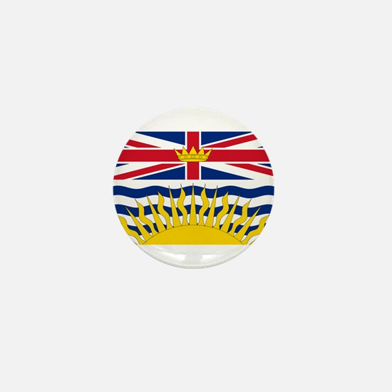 BC Flag Mini Button