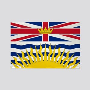 BC Flag Rectangle Magnet