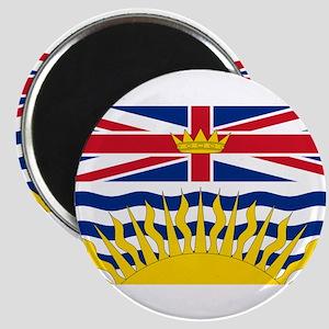 BC Flag Magnet