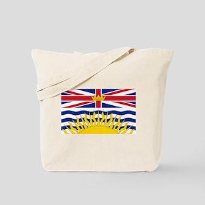 BC Flag Tote Bag