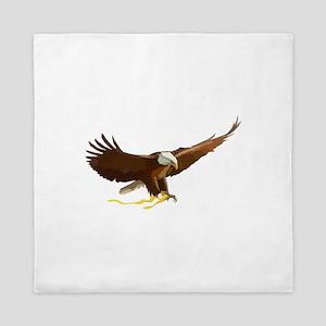 Bald Eagle Art Graphic Queen Duvet