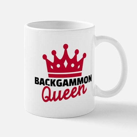 Backgammon Queen Mug