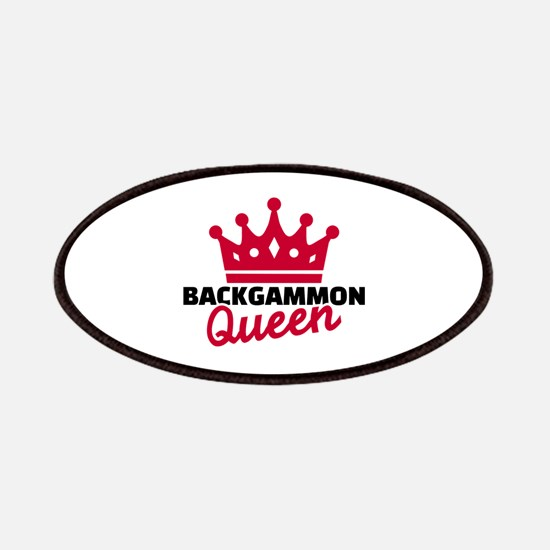 Backgammon Queen Patch