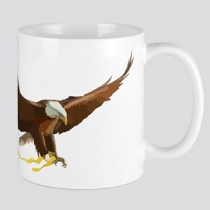 Bald Eagle Art Graphic Mugs