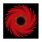 Amaryllis Tile Coaster