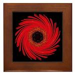 Amaryllis Framed Tile
