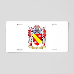 Py Aluminum License Plate