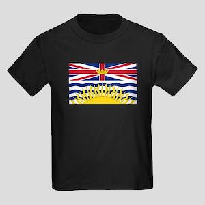 BC Flag Kids Dark T-Shirt