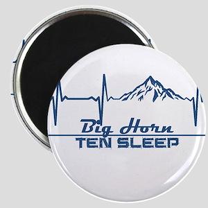 Big Horn - Ten Sleep - Wyoming Magnets