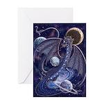 Celestial Dragon Greeting Card