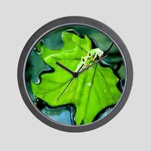 Red Eyed Love Wall Clock