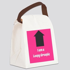Loopy Groupie Canvas Lunch Bag