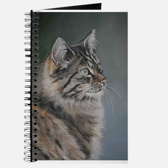 Cute Maine coon Journal