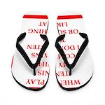 tennis Flip Flops