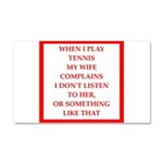tennis Car Magnet 20 x 12
