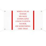 tennis Banner