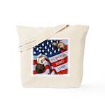All American Ferret Tote Bag